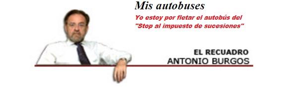 Mis autobuses. -Antonio Burgos/ABC-
